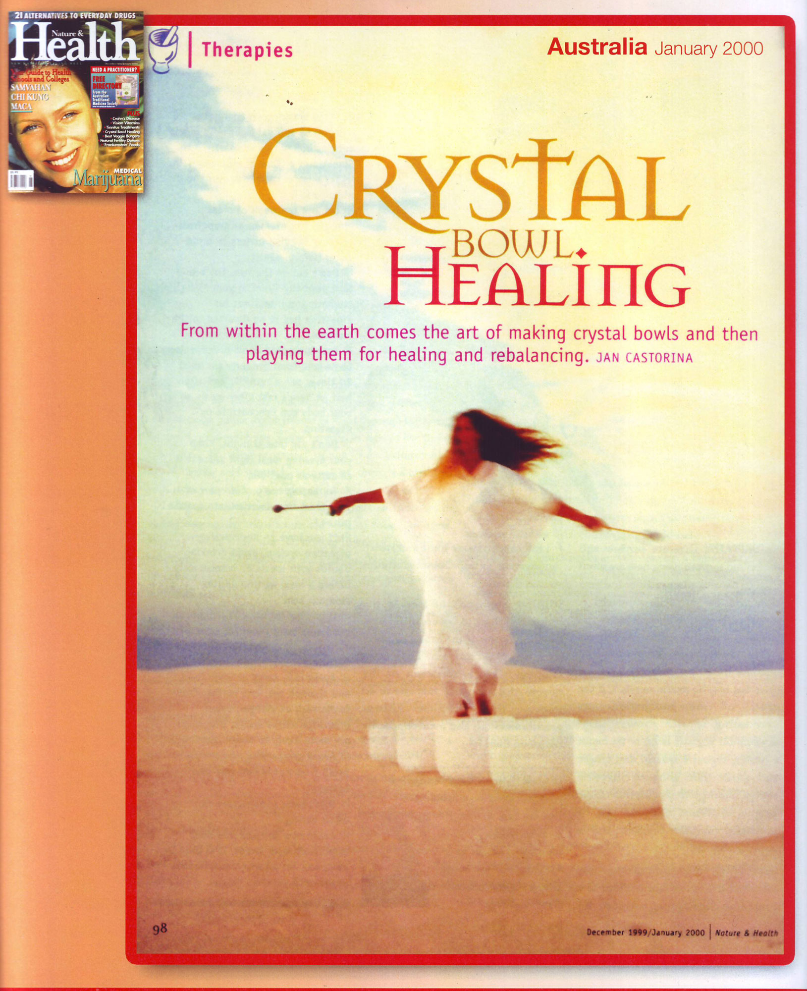 Crystal Bowl Healing - Crystal Sound Institute by AwaHoshi Kavan